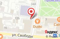 Схема проезда до компании Бургерная 838 в Ярославле