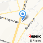 Поликлиника №1 на карте Ярославля