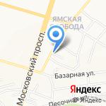 Дуэт на карте Ярославля