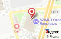 Схема проезда до компании Цветной бульвар в Ярославле