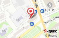 Схема проезда до компании Турист в Ярославле