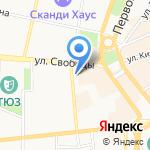 Магазин европейской обуви на карте Ярославля