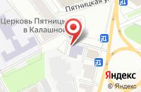 Схема проезда до компании Ярбург в Ярославле