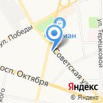 Стиляги на карте Ярославля