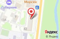 Схема проезда до компании Трансстрой в Вологде