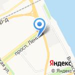 Комплексный центр социального обслуживания населения Ленинского района на карте Ярославля