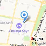 На поляне на карте Ярославля