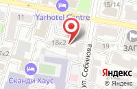 Схема проезда до компании На поляне в Ярославле