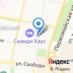 Детская школа искусств им. Л.В. Собинова на карте Ярославля