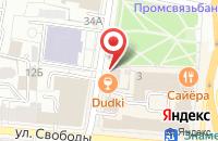 Схема проезда до компании ДудкиБар в Ярославле