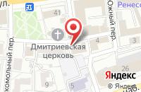 Схема проезда до компании Позитроника в Ярославле
