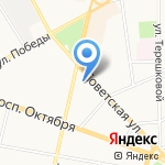 Объединенные Консультанты-Ярославль на карте Ярославля
