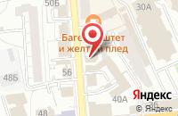 Схема проезда до компании Брюгге в Ярославле