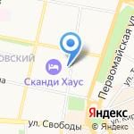 Флюоростанция на карте Ярославля