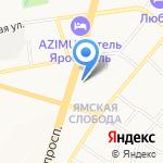 Строящиеся объекты на карте Ярославля