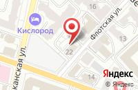 Схема проезда до компании Черная Кошка в Ярославле
