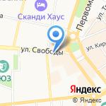 ДОСААФ России на карте Ярославля