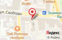 Схема проезда до компании Графin в Ярославле