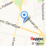 Учреждение по содержанию и эксплуатации административных зданий на карте Ярославля
