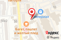 Схема проезда до компании Багет в Ярославле