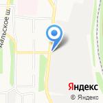 Фортуна на карте Ярославля