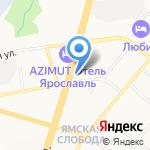 Отделение почтовой связи №1 на карте Ярославля