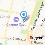 Avenue76 на карте Ярославля