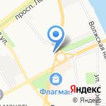 Промсвязьбанк на карте Ярославля