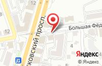 Схема проезда до компании Старый Баку в Ярославле