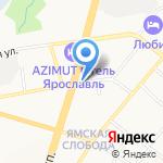 Простор на карте Ярославля