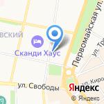 My cheap travel на карте Ярославля