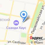 Симпати на карте Ярославля