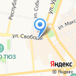 Аннэль на карте Ярославля