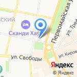 МБС-тур на карте Ярославля