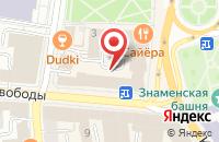 Схема проезда до компании МакМастер в Ярославле