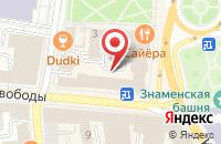 Схема проезда до компании Lounge Шкаф в Ярославле