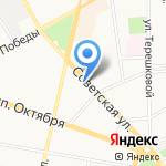 Академия правовой защиты на карте Ярославля