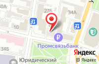 Схема проезда до компании Бурум в Ярославле