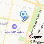 Губернский на карте Ярославля