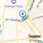 Салон-магазин женских платьев на карте Ярославля