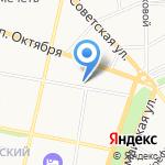 Шарунья на карте Ярославля
