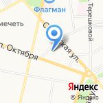 Ярославская региональная антипиратская организация на карте Ярославля