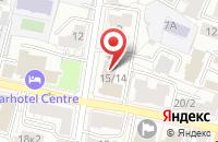 Схема проезда до компании Гринвич в Ярославле