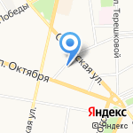 Юсодент на карте Ярославля