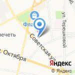 Северная пригородная пассажирская компания на карте Ярославля
