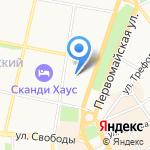 Шёлк на карте Ярославля