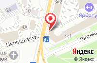 Схема проезда до компании Инет-Трейд в Ярославле