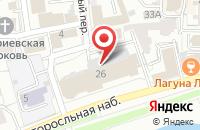 Схема проезда до компании Юбилейная в Ярославле