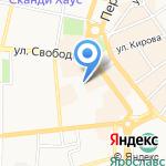 Квартал на карте Ярославля