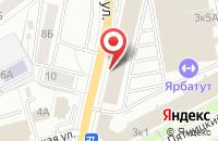 Схема проезда до компании Маяк в Ярославле